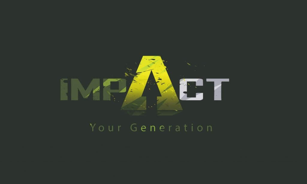 Logo design of a brand impact