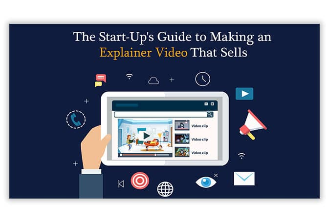 start up guide of infographic