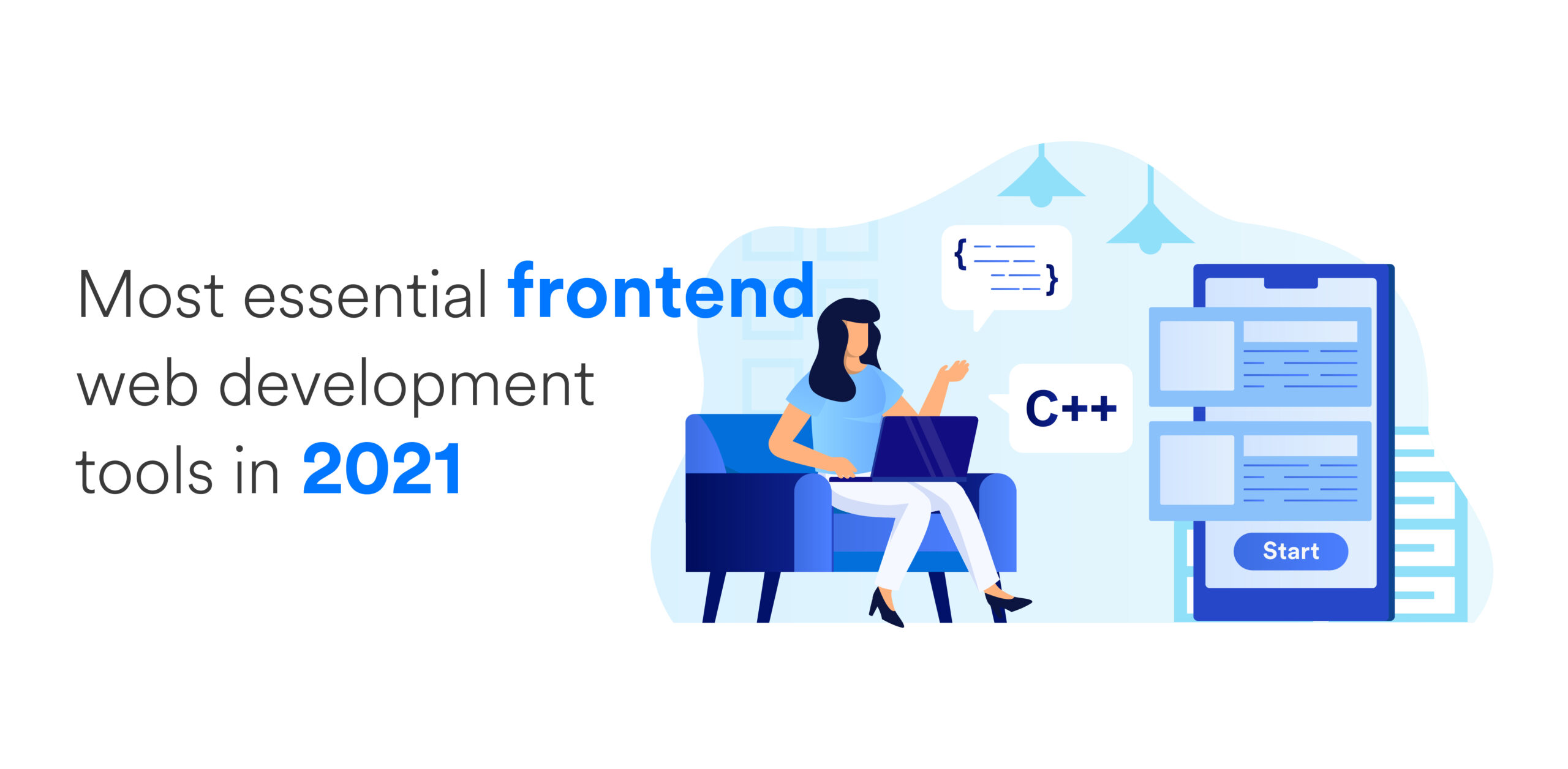 Most Essential Frontend Web Development Tools In 2021 - Domaincer Blog